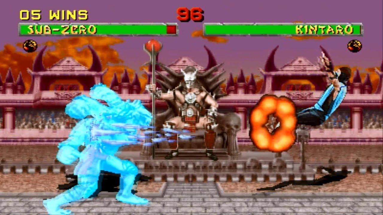 Download Mortal Kombat 2 arcade Sub Zero Gameplay Playthrough Longplay