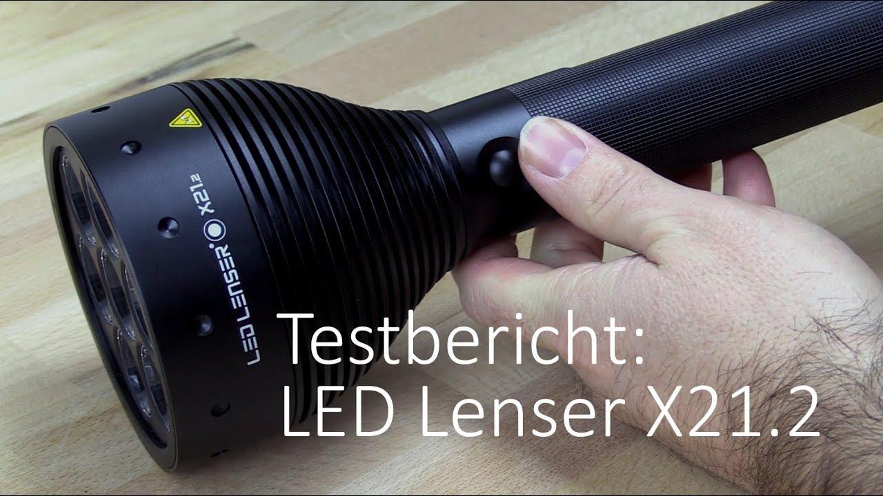 LED Lenser F1 Taschenlampe 400 Lumen mit CR 123 A Batterie Akkubetrieb möglich