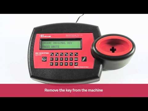 Cloning of Renault Philips Crypto car key remotes | Keyline 884 Decryptor Ultegra