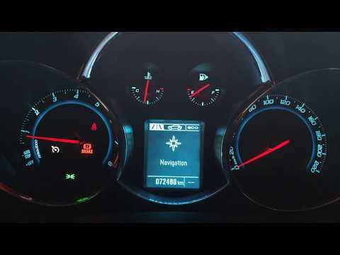 Chevrolet Cruze Tacho Display Umprogrammiert