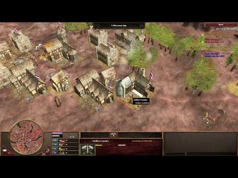 [AOE 3 - TAD] Showmatch Boneng vs Goodspeed - BO 9 with commentary - Part 2