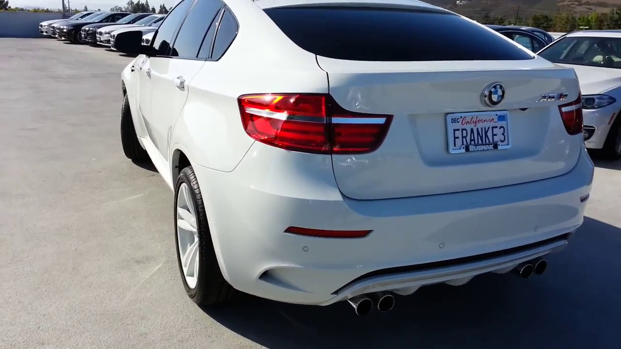 New Bmw X6 M White Out Walk Around Red Interior Not M6 Youtube