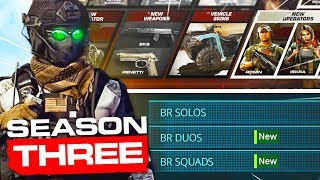 SEASON 3 is LIVE! Modern Warfare WARZONE Battle Pass, Trailer, Map Update, New Weapon Gameplay
