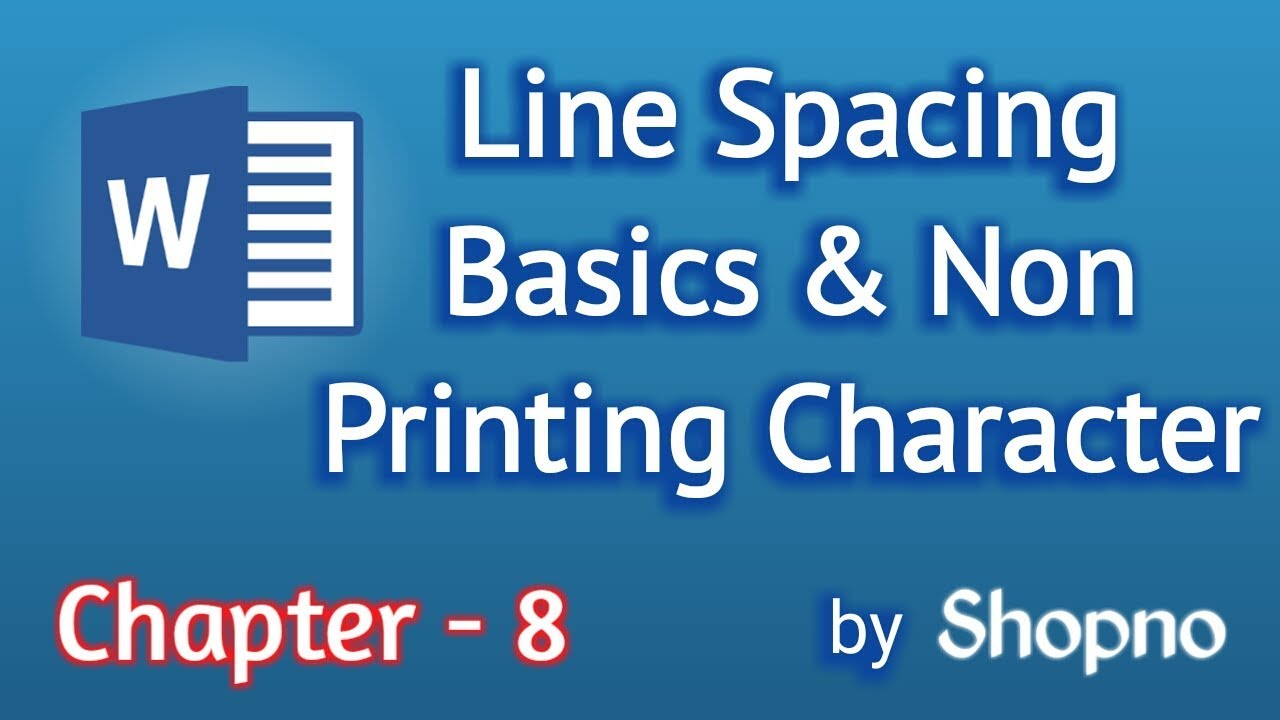 how to change line spacing in word 2016