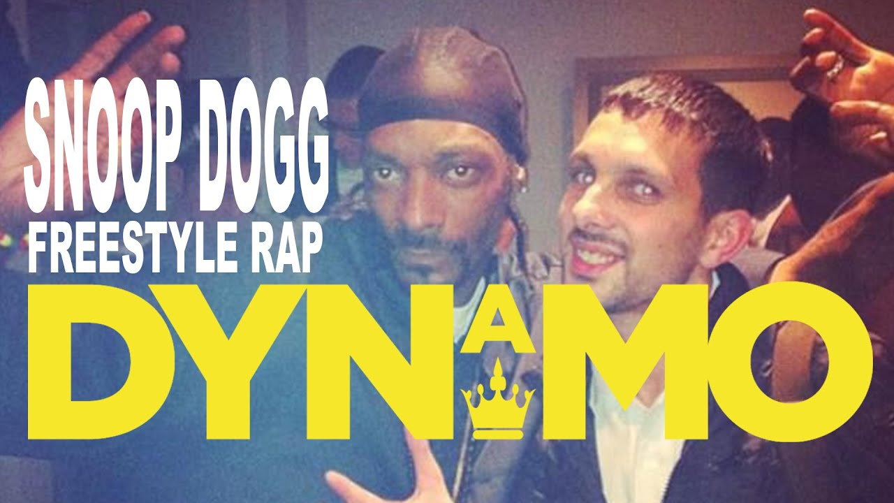 SNOOP DOGG FREESTYLE RAPS ABOUT MAGICIAN DYNAMO