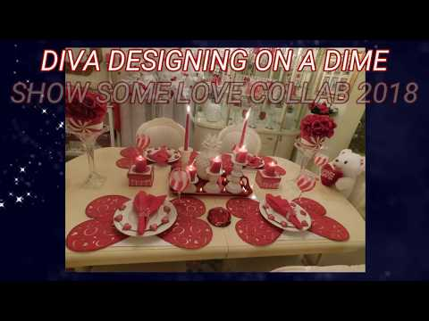 DIVA DESIGNING ON A DIME. SHOW SOME LOVE COLLAB 2018