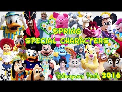 2016 Spring Special Characters / Disneyland Paris [1080 HD]