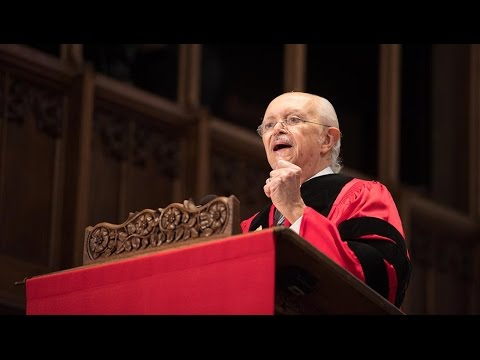 Mario Molina: 2017 Baccalaureate Address - YouTube