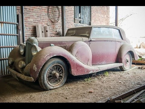 Barn Find Abandoned Cars