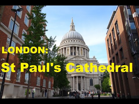 LONDON: St Paul's Cathedral from YouTube · Duration:  2 minutes 35 seconds