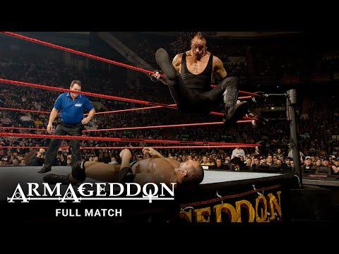 FULL MATCH - Batista vs. Edge vs. Undertaker - World Heavyweight Title Match: WWE Armageddon 2007