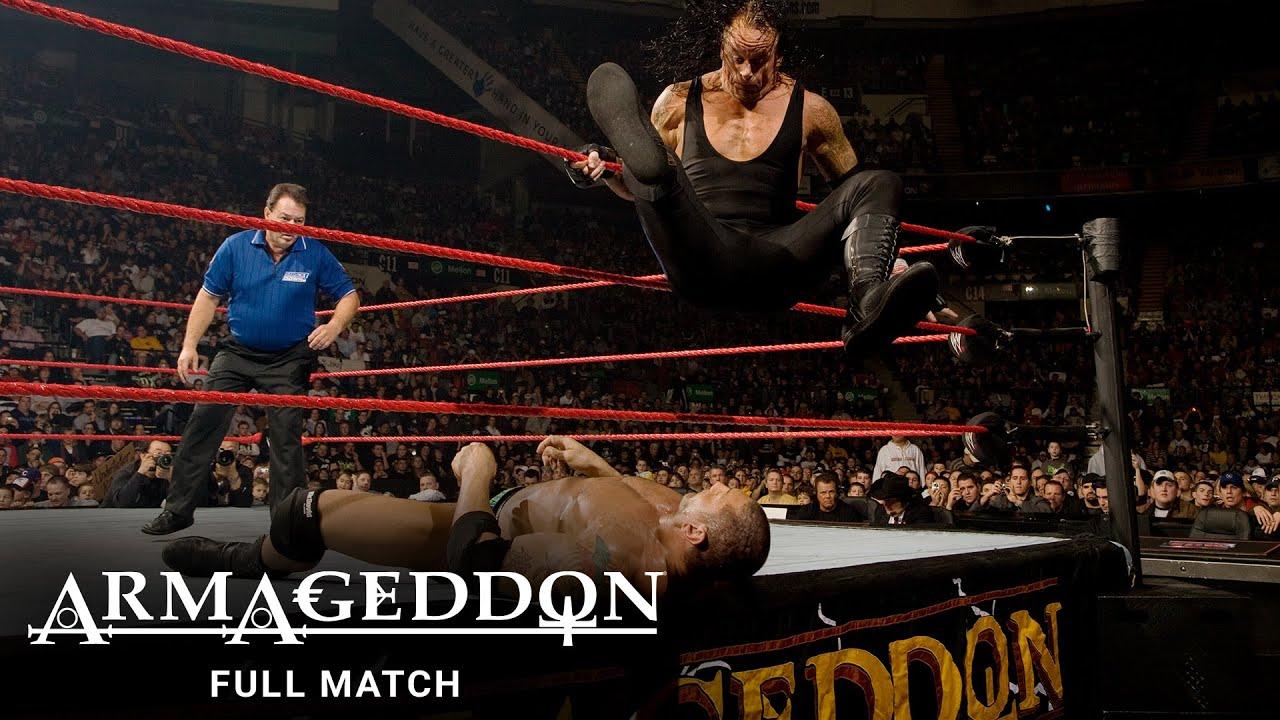 Download FULL MATCH - Batista vs. Edge vs. Undertaker - World Heavyweight Title Match: WWE Armageddon 2007