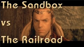 The Sandbox vs the Railroad, Running the Game #12