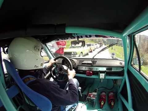 VW Polo Bergrennen Missen 2014, onboard, Audi 50, Youngtimer,