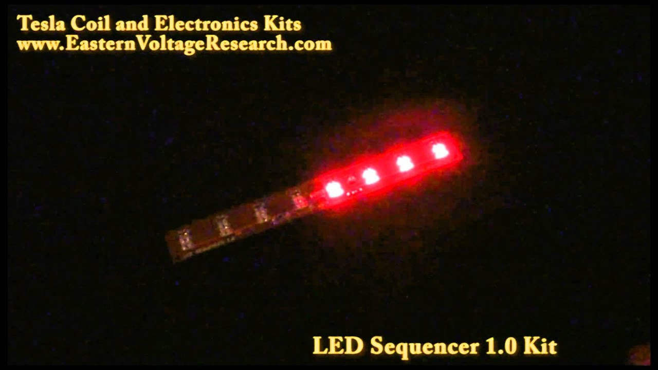 Led sequencer chaser light kit youtube aloadofball Choice Image
