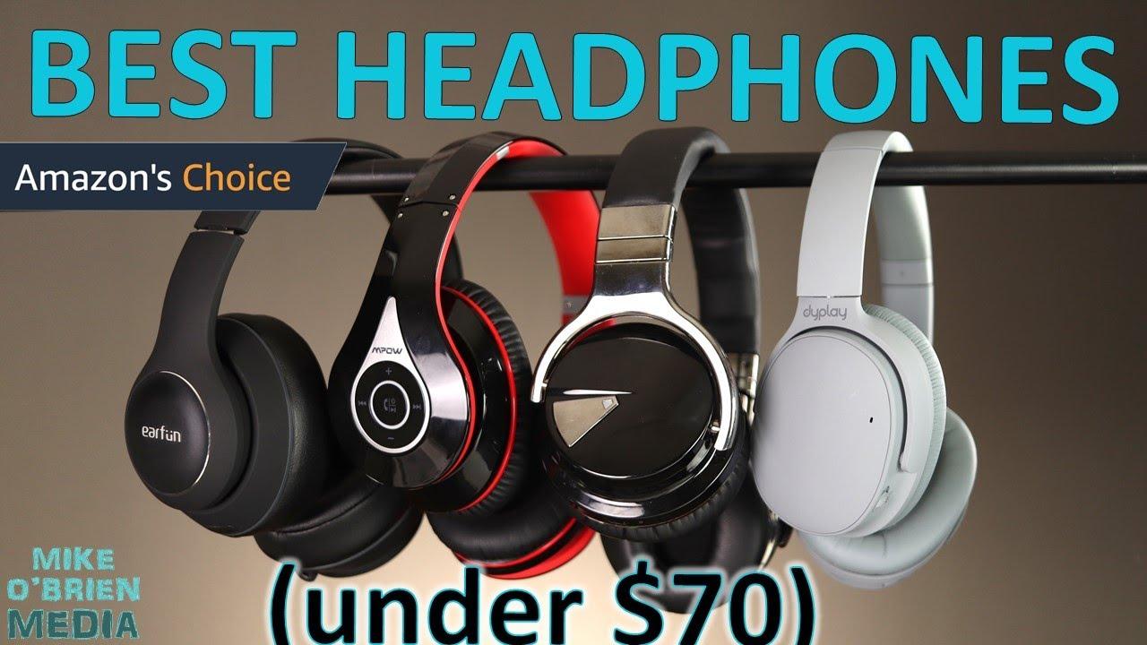 Best Budget Headphones On Amazon Bluetooth Under 65 Youtube