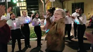 Royal Oaks staff get their boogie on during our 35th Anniversary party!