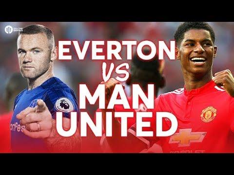 Everton vs Manchester United LIVE PREMIER LEAGUE PREVIEW!