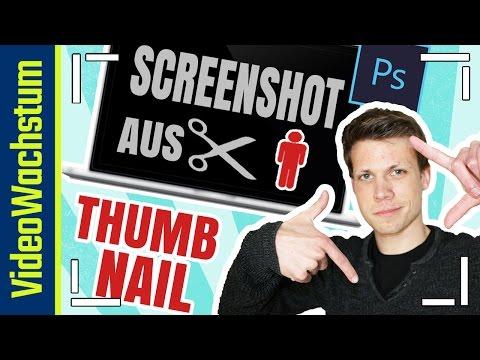 YouTube Thumbnails erstellen - Personen einfach aus Screenshot ausschneiden - Photoshop Tutorial
