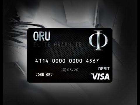 oru visa black card oru prepaid visa card - Prepaid Black Card