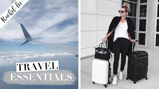 TRAVEL ESSENTIALS - Whats In My Suitcase | Organization, Fit More & No Mess