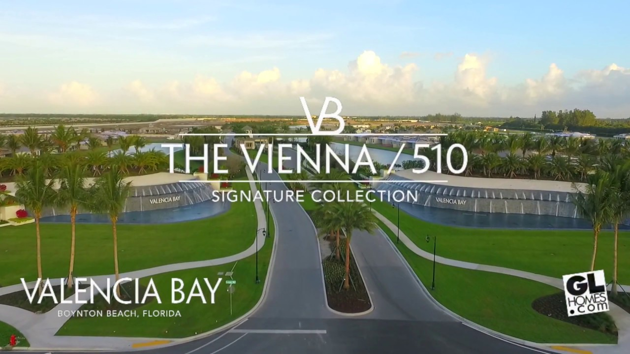 The Vienna Model Home Valencia Bay In Boynton Beach Fl Gl Homes