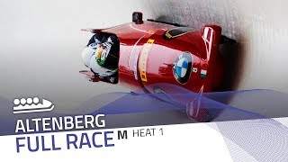 Altenberg | BMW IBSF World Cup 2017/2018 - 4-Man Bobsleigh Heat 1 | IBSF Official