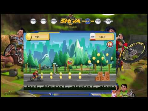 games cartoon cycle with shiva score poin 21399