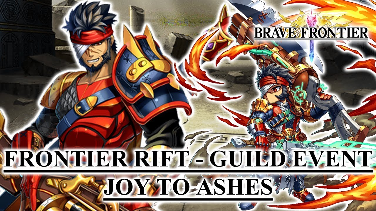 Brave Frontier - Frontier Rift - Guild Event: Joy to Ashes by hanielstoners