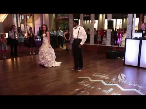 Surprise Choreographed First Dance at Wedding