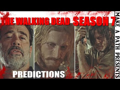 DARYL WATCHES IT HAPPEN! The Walking Dead Season 7 Ep. 6 - 8 PREDICTIONS