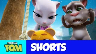 ⛄ SNOWBALL FIGHT ⛄ My Talking Tom 2 - NEW Update Short