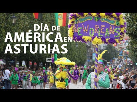 video about Day of America in Asturias