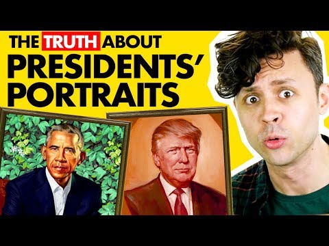 Facts about US Presidents' Portraits