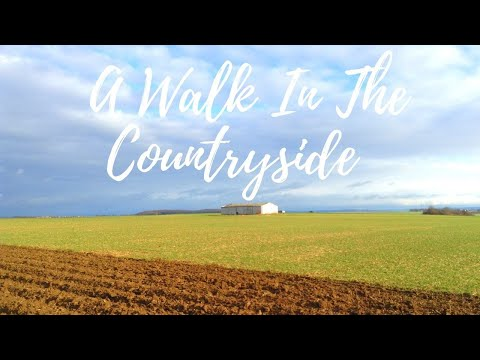 A WALK IN THE GERMAN COUNTRYSIDE