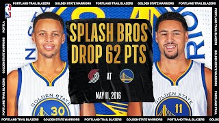 Splash Bros Combine For 62-PT Night | #NBATogetherLive Classic Game