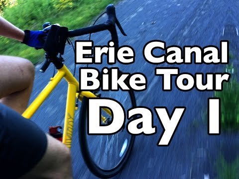 Erie Canal Bike Tour Day 1