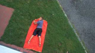 Hilarious Water Balloon Dropping (40lbs. - 3 Story Building)