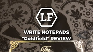 Write Notepads Goldfield Review