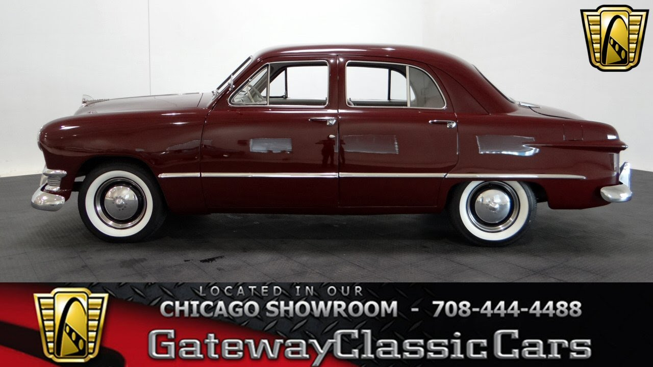 Cars 30k >> 1950 Ford Deluxe Gateway Classic Cars Chicago #9004 - YouTube