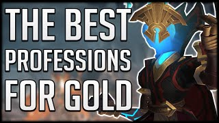 What Are THE BEST PROFESSIONS In Shadowlands For EASY GOLD?