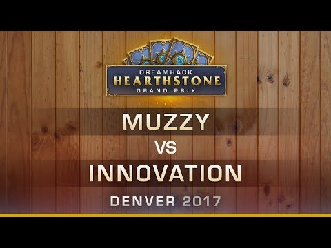 Muzzy vs Innovation - Round 9 - Hearthstone Grand Prix DreamHack Denver 2017