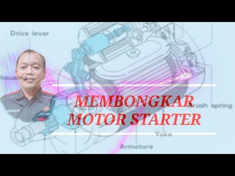 PEMBONGKARAN  MOTOR STARTER KIJANG 5K