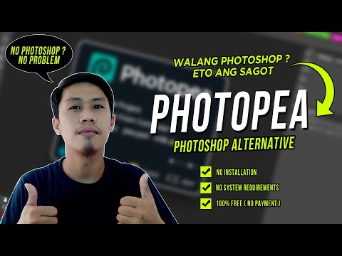 Photoshop Alternative - Free Online Photo Editor | Photopea Tutorial