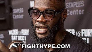 DEONTAY WILDER REACTS TO TYSON FURY ADDING FREDDIE ROACH TO CORNER; SAYS BETTER OFF WITH PETER FURY