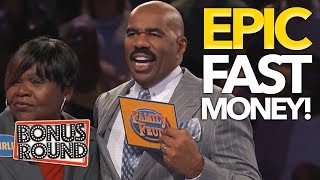 5 HIGHEST FAMILY FEUD USA Steve Harvey's Fast Money Scores! WOW ! Bonus Round