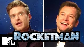 Rocketman Gay Sex Scene: Taron Egerton & Richard Madden Talk Intimacy , MTV Movies