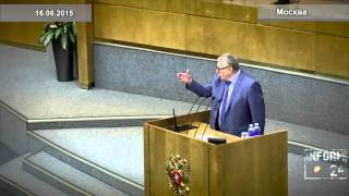 Выступление Жириновского в Госдуме по случаю 60-летия Чубайса