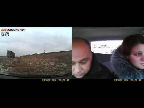 Дтп.Фура врезалась в автомобиль автошколы(Гродно)