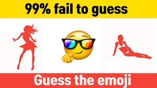 GUESS THE EMOJI QUIZ GAME 95% FAIL TO PASS THIS QUIZ